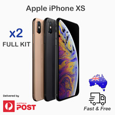 2x Apple iPhone X XS Tempered Glass Screen Protector Cover x2 Kit 9H Hardness
