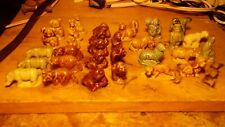Wade Whimsie's Red Rose Tea lot of 30 Assorted figurines Collectibles Miniatures