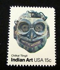 U.S. STAMP<unused>--[Single]--INDIAN MASKS-CHILKAT TLINGIT--(1980)--Scott#1835
