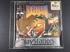 Doom - Sony Playstation 1 Game - PS1 PAL - Complete (Front label missing)