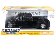 JADA BIGTIME 90145 1999 99 CHEVY SILVERADO DOOLEY PICK UP TRUCK 1/24 BLACK