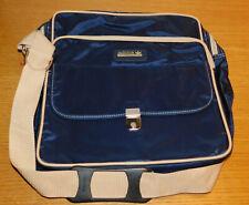 18c7fce756 VINTAGE sacoche SAC à main ADIDAS HAND travel BAG Handtasche handbag BLUE  BLEU