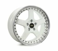 18x8.5 Simmons Fr-1 White 5/120 P43 Wheel