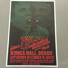 SEX PISTOLS CLASH DAMNED JOHNNY THUNDERS CONCERT POSTER KINGS HALL DERBY U.K.