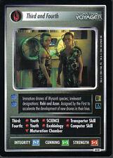 STAR TREK CCG THE BORG RARE CARD THIRD AND FOURTH