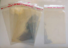 100 ¬ 5.5 x 3 inch Clear Lollipop Cake Pop Art Craft Cello Display Bags #lp