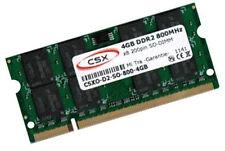 1x 4gb 4gb ddr2 800 Mhz per Notebook Dell Precision m4400 DI RAM MEMORIA SO-DIMM