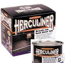 Black___Herculiner Roll In Bedliner Kit plus 1 Quart.