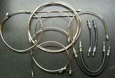 Mga tambour frein modèles-poli cupro-nickel brake pipe set & brake hoses
