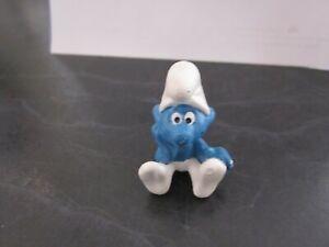 Smurfs Thinker Smurf Vintage Rare (e)