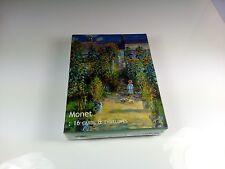 MONET 16 CARTES POSTALE + ENVELOPPE PEINTRE TABLEAU COLLECTION ART SOUS BLISTER