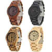 BEWELL Bamboo Wooden Watch Wood Bracelet Bangle Analog Quartz Men Male Watches