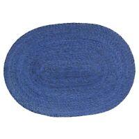 ASA Selection Makaua Tischset Platzmatten Platzset Untersetzer Oval Blau 46 cm