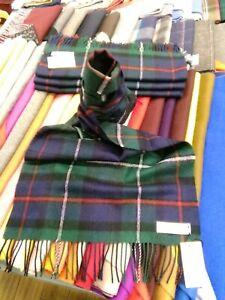 100% Lambswool Wide Scarf | Lochcarron | Made in Scotland | Mackenzie Stole