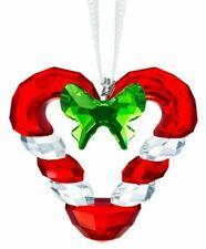 Swarovski Crystal Joyful Candy Cane Heart Ornament New for 2019 #5403314