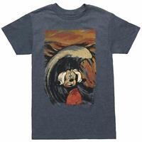 Disney Mickey Mouse Scream Painting Mens T Shirt Disneyland Disneyworld S-2XL