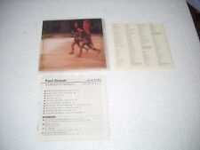 PAUL SIMON / THE RHYTHM OF THE SAINTS + Bonus track - JAPAN CD MINI LP opened