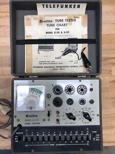 Vintage Kyoritsu Tube tester K-119