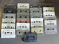 LOT OF CASSETTE TAPES FOR CRAFTS, REPURPOSE OR PARTY DECORATION