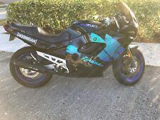 1993 Suzuki Katana Gsx600 4-cylinders 4 Parts Sports Motorcycle Aqua Clean Title