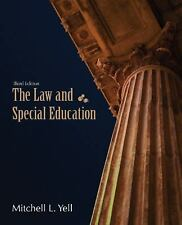 The Law and Special Education, Yell, Mitchell L., Acceptable Book