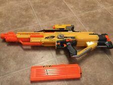 Nerf N-Strike Stampede ECS Battery Powered Motorized Dart Gun With 18 Shot Clip