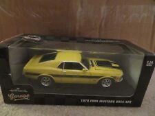 MotorMax Hallmark Garage 1970 Ford Mustang Boss 429 1:24 Scale 2015 MISB