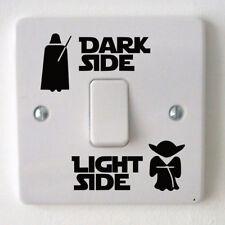 Star Wars Dark Light Side Switch Vinyl Decal Sticker Child Room Wall Home Funny