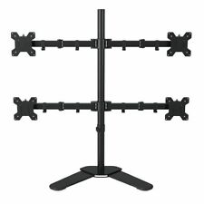 Desktop Stand Full Motion 360 Degree 4 Screens Monitor Holder Monitor Mount Arm