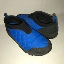 Merrell Alpine Moc Blue Men's 10 Nylon Quilted Slip On Moccasin Shoe