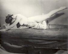 Org Vintage 40s-60s Nude (10 x 8) RP- Detroit- Artistic- Legs- Endowed Brunette