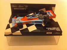 Minichamps 1.43 Scale TYRRELL FORD 007 Driven by A Pesenti Rossi Year 1976.