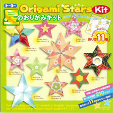PACK of 210 Sheet Japanese Hoshi-No Origami Paper Stars Craft Kit Made in Japan