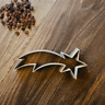 Shooting Star Christmas Cookie Cutter - Fondant & Biscuit- Instagram - 3 Sizes