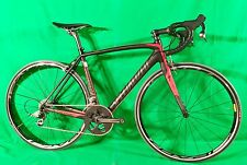 2012 SPECIALIZED Tarmac Pro SL4 SRAM Red 54cm Carbon Race Road Bike