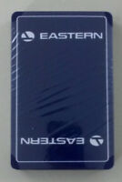 Vintage Eastern Airlines Playing Cards Bridge Size Deck Sealed in Wrap NEW