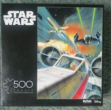 """Disney Star Wars: """"Use the Force, Luke"""" 500 Piece Puzzle. R2D2 Tie fighter Xwing"""
