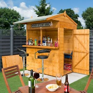 Sale Garden Bar Shiplap Party Shelter Shed Christmas Tea Coffee Burger Stall