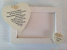 Shabby personalised Gift Chic Special Best Friend Friendship PhotoFrame 20x15 cm