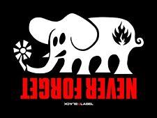Black Label Skateboards Vinyl Banner Flag Sign Skate Shop Mini Ramp Man Cave