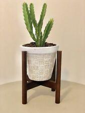 Nordic/ Mid Century / Scandinavian Handmade Flower Pot Plant Wooden Stand