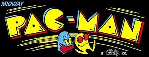 "TIN SIGN ""Pac Man"" Video Games Mancave Wall Decor"