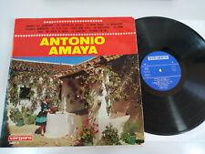 """Antonio Amaya Exitos Flamenco Vergara 1967 - LP 12"""" Vinilo VG/VG"""
