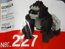 Gorilla Nanoblock Micro Sized Building Block COnstruction Brick NBC227 Kawada