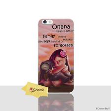"Lilo & Stitch Case/Cover Apple iPhone 7 (4.7"") / Screen Protector / Quote Hug"
