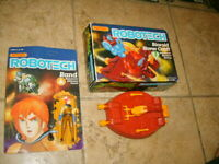 ROBOTECH RAND & HOVERCRAFT MATCHBOX NEW FIGURE LOT SET 1980s
