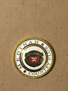 Medinah Country Club Magnetic GOLF BALL MARKER