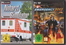 Emergency 2012 Feuerwehr Polizei Rettungsdienst + Notarzt Simulator Sammlung PC