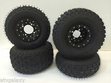 Hiper CF1 Beadlock Rims ITP Holeshot Trail Tires Front/Rear Yamaha YFZ Raptor