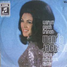 "7""  1970 RARE VG++! WANDA JACKSON : Warum gleich Tränen"